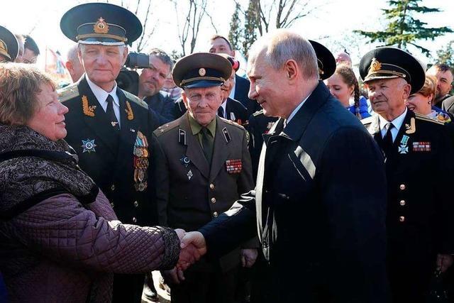 Der patriotische Hype in Russland ist vorbei