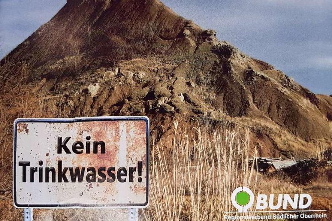 Die Protest-Postkarte, von der mehr al...ck an das Landratsamt gesendet wurden.  | Foto: Sebastian Wolfrum