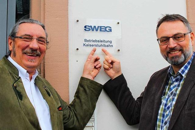 Nach fast 33 Jahren geht Norbert Lange bei der SWEG in den Ruhestand
