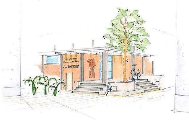 Katholisches Gemeindezentrum Albaneum wird aufwendig saniert