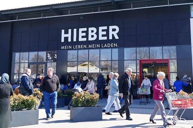 Hieber-Markt in Müllheim eröffnet nach Millionen-Umbau