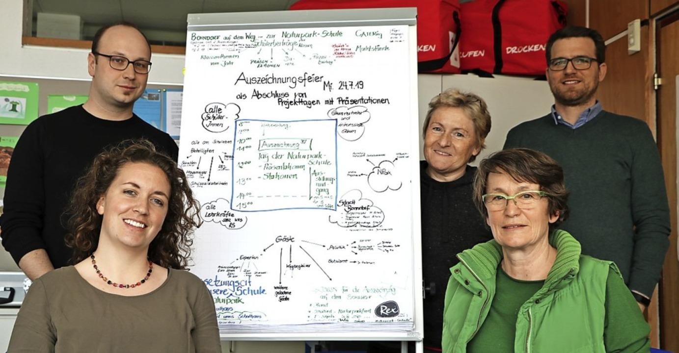 Als Organisatoren, Multiplikatoren ode...är und Michel-David Woehr (von links).  | Foto: Martha Weishaar