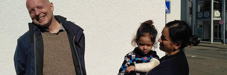 Flüchtlingshelfer bringt Tochter zu ihrer Mutter nach Lörrach