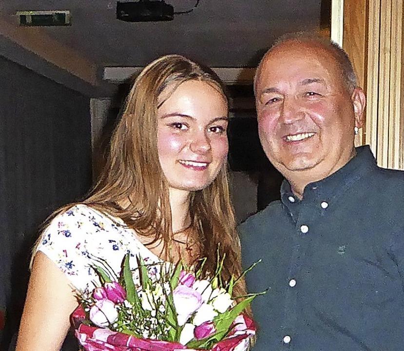 Julia Nothacker engagiert sich  außerg...h stark im Schüler- und Jugendbereich.  | Foto: Verein