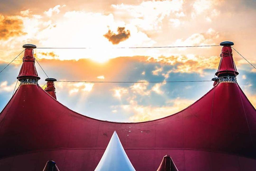 Das Zirkuszelt des ZMF bietet aktuell ...tät auf bis zu 5000 Besucher steigern.  | Foto: Janos Ruf