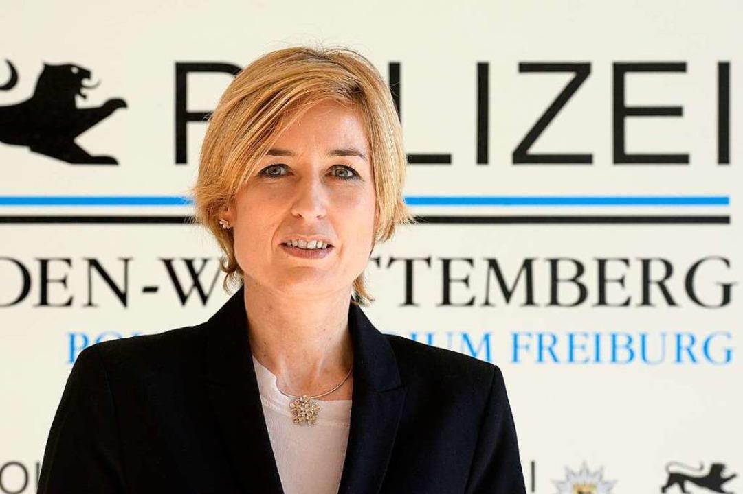 Sonja Jakob leitet die Kripoabteilung der Finanzermittler.  | Foto: Ingo Schneider