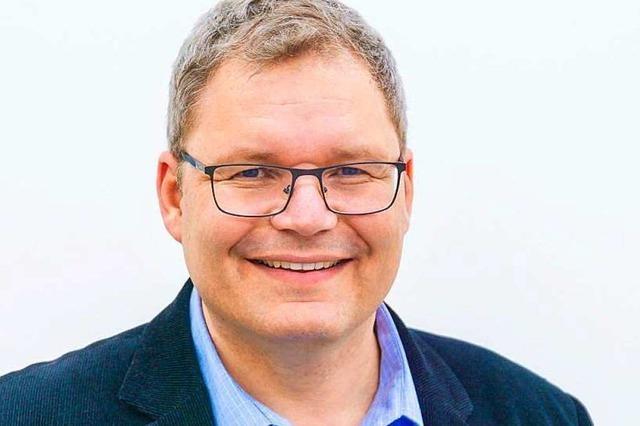 Spitzenkandidat Achim Wiehle von