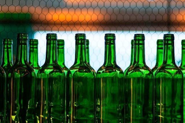 Weinflaschen werden knapp – weil es viel Wein gibt