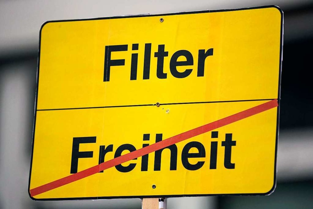 Was sind Upload-Filter?  | Foto: dpa