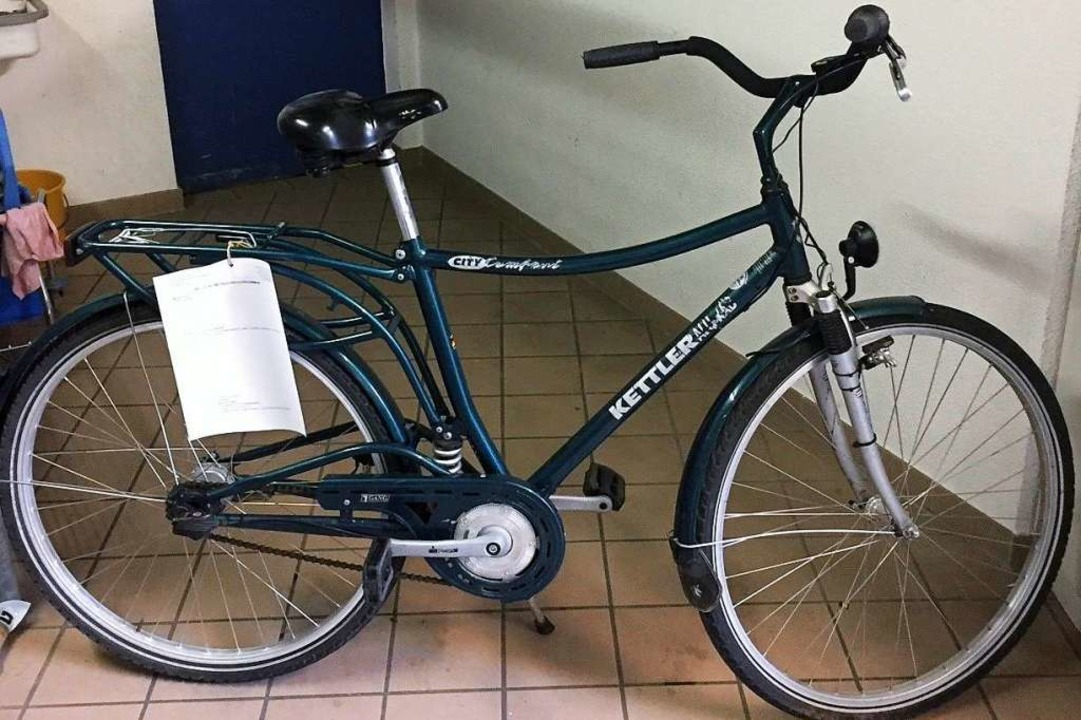 Nummer 2: Wem gehört dieses Rad?  | Foto: Polizei