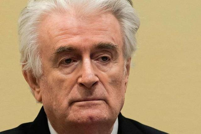 UN-Tribunal: Lebenslang für Ex-Serbenführer Karadzic