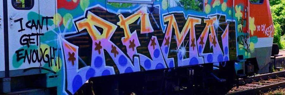 Dieser Freiburger sammelt im Internet Bilder von Graffiti auf Zügen