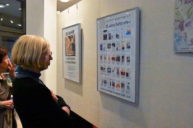 Gundelfinger Kunstverein zelebriert 35. Geburtstag mit Ausstellung