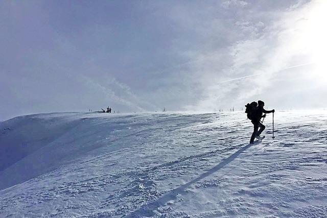 Schneeschuhtour auf dem Feldberg mit Einkehr