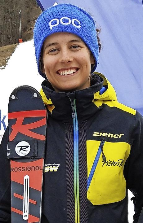 Ronja Wiesler verfehlte nur zweimal knapp das Podest.   | Foto: Siegmund