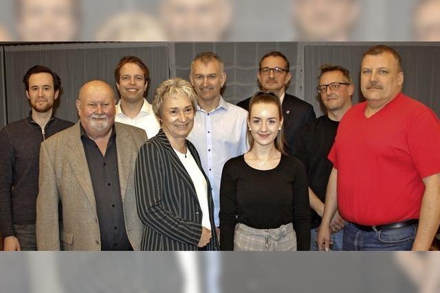 Zehn Freie Wähler treten an