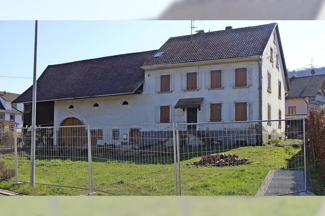 Protest gegen Wohnhaus in Wollbach