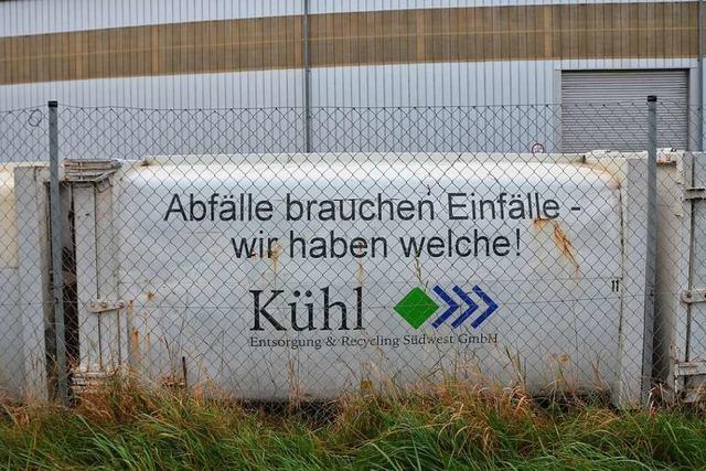 Efringen-Kirchen schlägt Biomüllumschlagplatz in Kleinkems vor