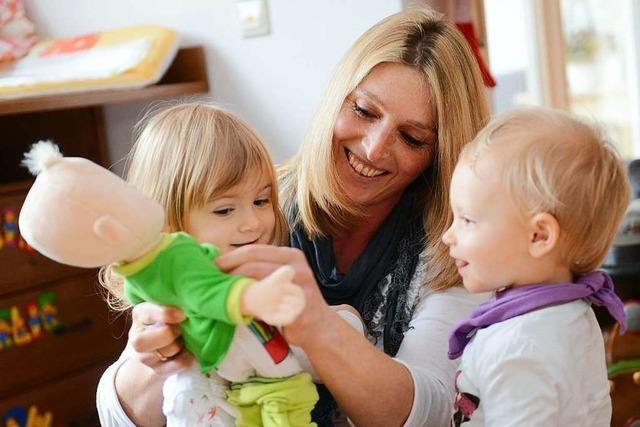 So steht es um die Kindertagespflege im Landkreis Lörrach