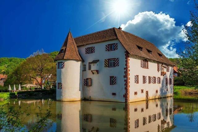 Das Wasserschloss in Inzlingen wird immer beliebter