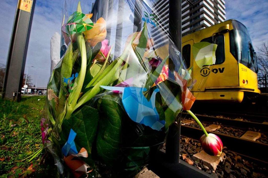 Trauer nach den Morden in Utrecht  | Foto: dpa