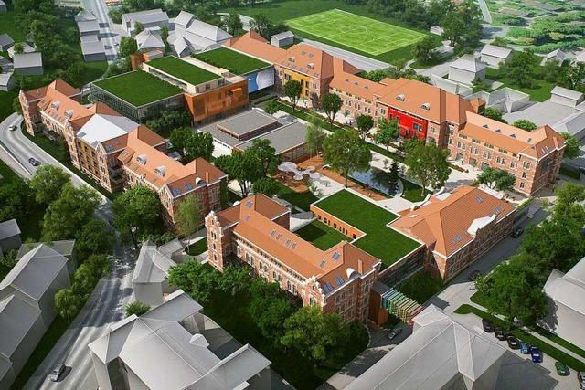 Wohnungen, Büros und Parkplätze entstehen im Innenhof des Zeitareals