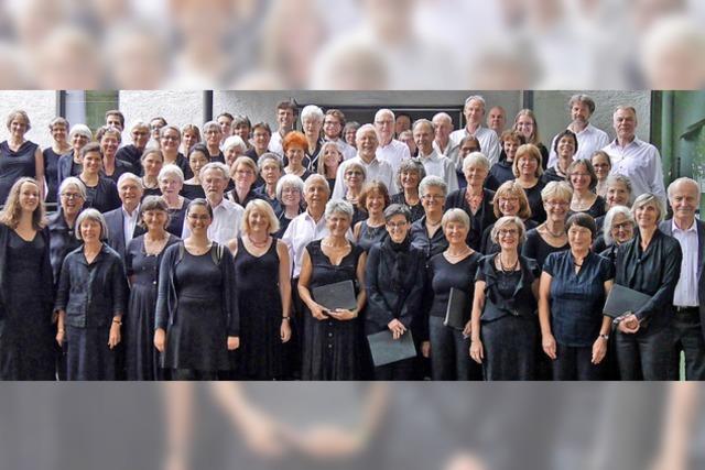 Chorkonzert der Kantorei Freiburg