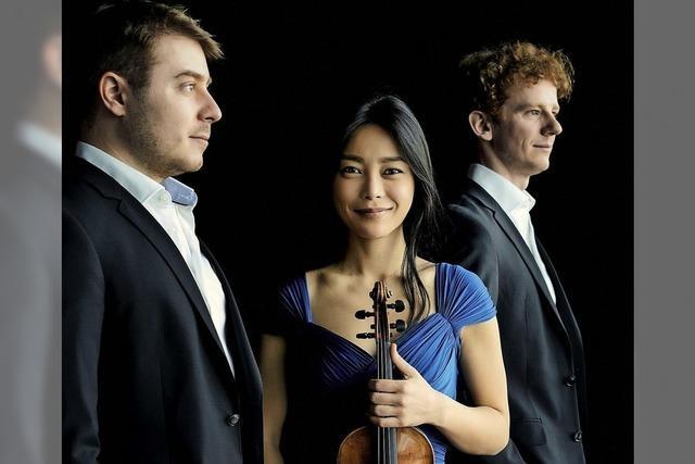 Orion Trio gibt Konzert im Kursaal Bad Säckingen/Workshop mit Cellistin Natalie Dauer