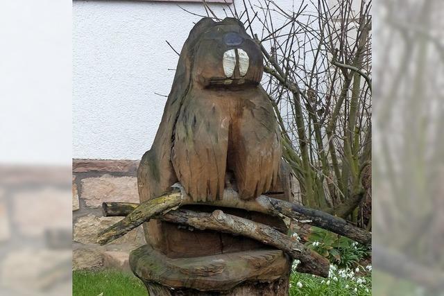 Skulptur in Ichenheim