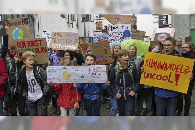 Demonstration statt Unterricht