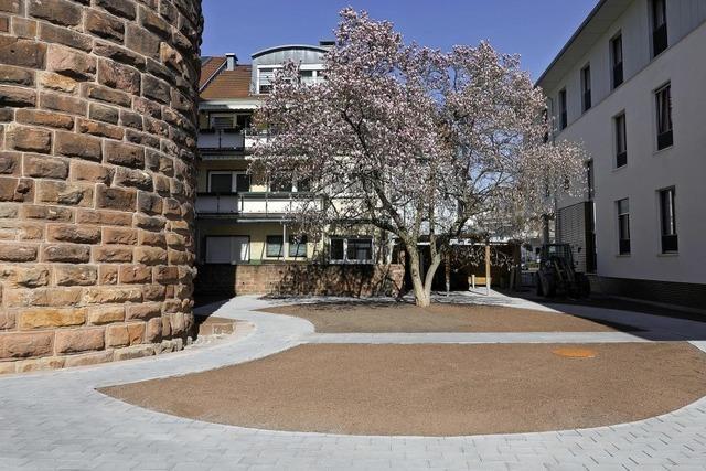 Im Mai wird der Spitalgarten eröffnet