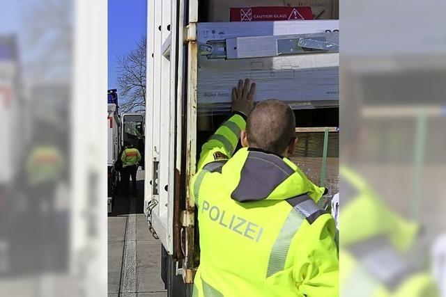 Gefahrgut im Fokus der Polizei