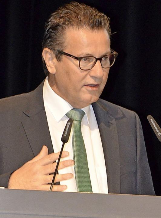 Minister Peter Hauk   | Foto: hrö