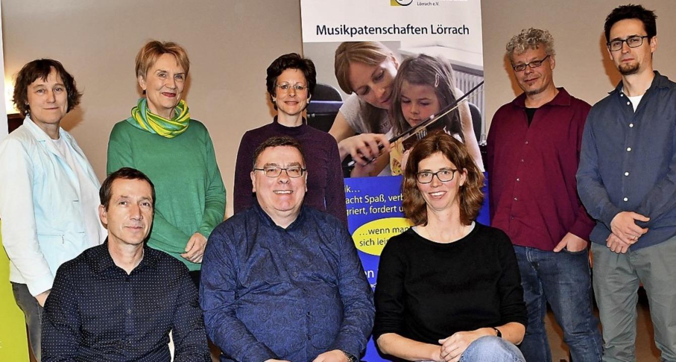 Der Vorstand des Fördervereins Musikschule    Foto: Barbara Ruda