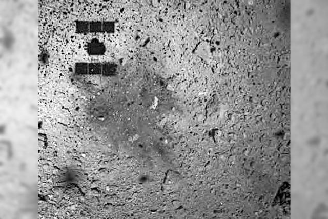 Kurz gemeldet: Asteroid Ryugu ist sehr trocken