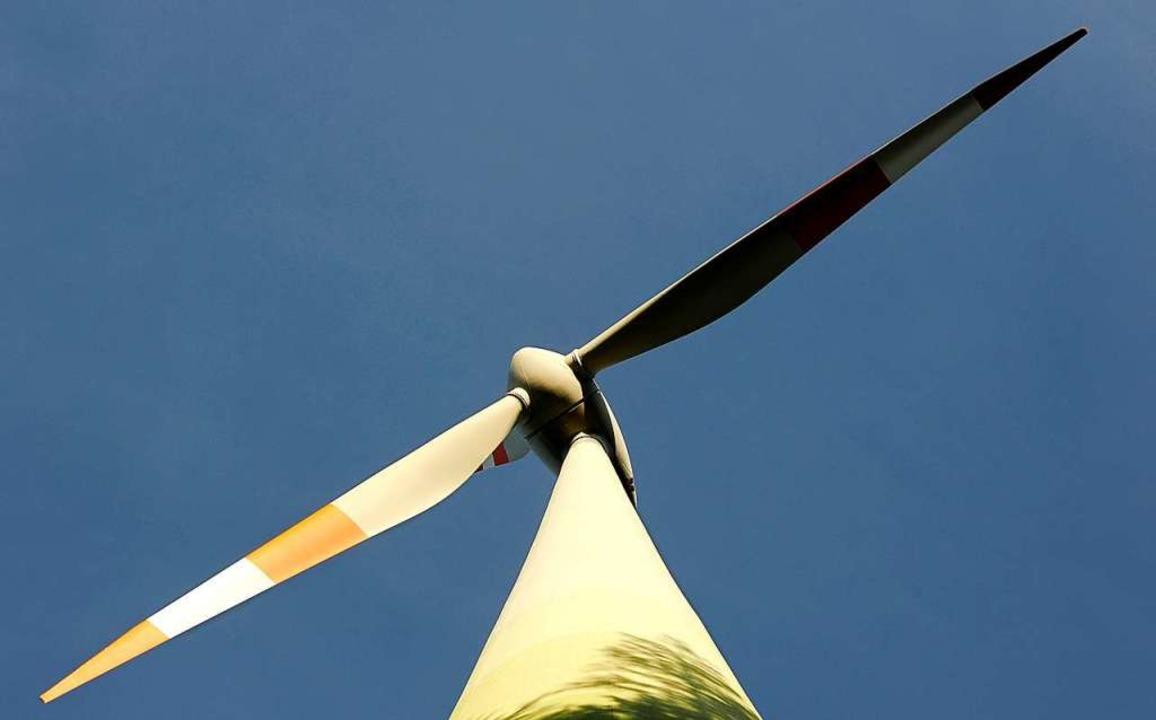 Zwei Windkraftanlagen sollen auf dem T...ne Windkraftlobbyistin angestellt ist.    Foto: Ingo Schneider