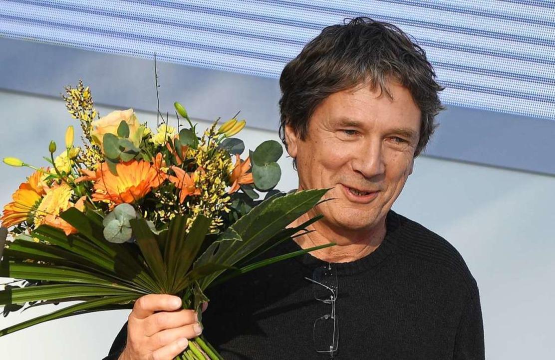 Harald Jähner bei der Leipziger Buchmesse   | Foto: DPA
