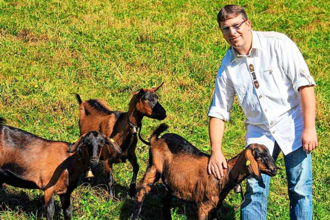 Ewald Klingele züchtet im Nebenerwerb Ziegen.  | Foto: privat