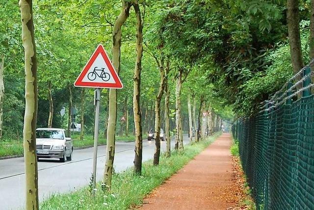 So will die Weiler Verwaltung etwas für Radfahrer tun