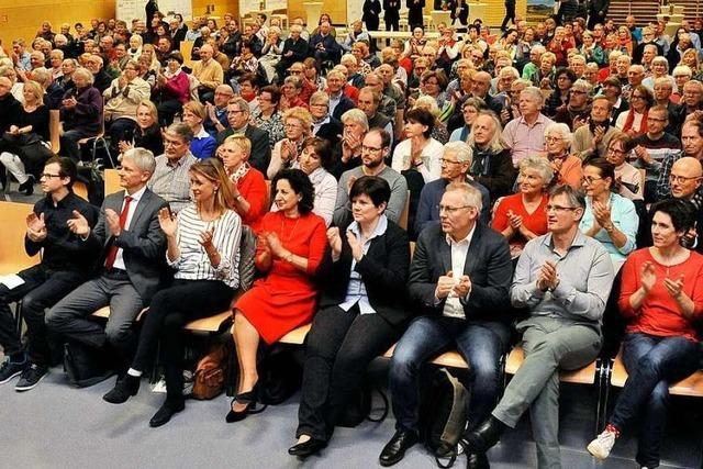 Einwohnerversammlung Staufen 2019