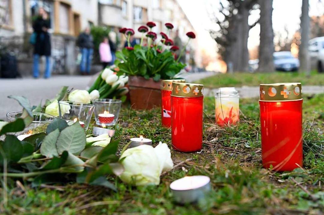Der Tatort in Basel    Foto: dpa