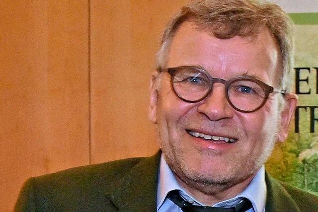Forstpräsident Meinrad Joos verabschiedet sich in den Ruhestand