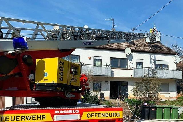 50 000 Euro Schaden nach Wohnhausbrand in Zell-Weierbach