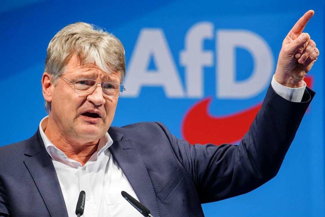 Gerät Jörg Meuthen in den Fokus der JUstiz?  | Foto: dpa