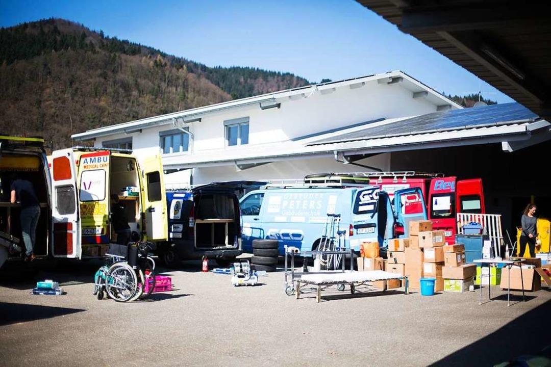 Packaktion in Kollnau  | Foto: Verein