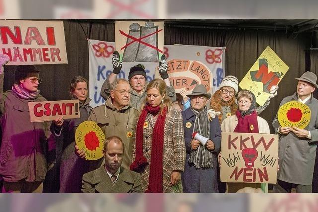 Theaterbühne im Keller gastiert in Bahlingen