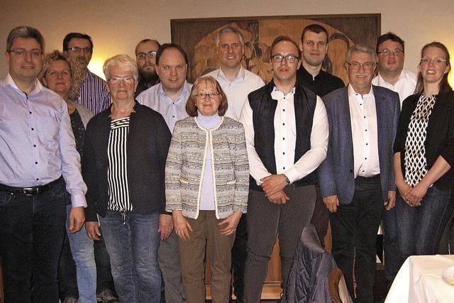 13 Kandidaten für die CDU