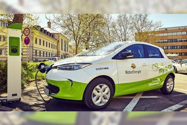 Geteilte Meinung zu E-Carsharing