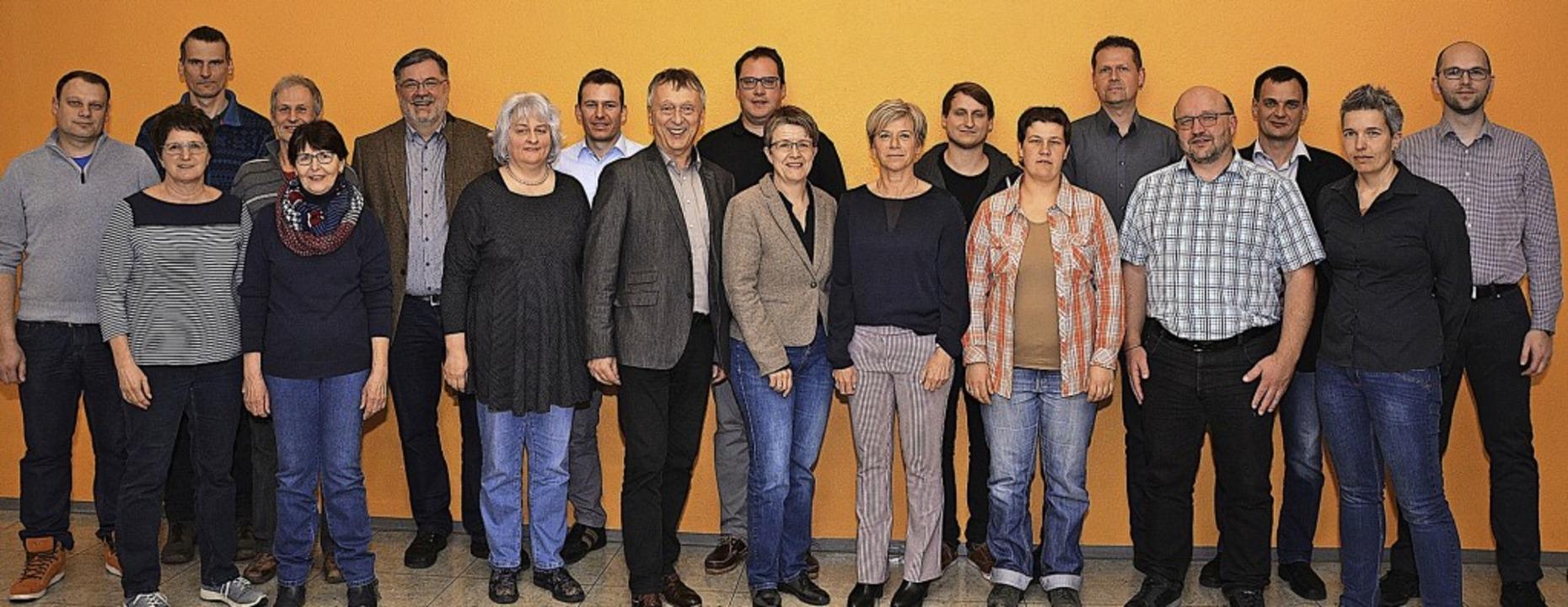 Die Freien Wähler treten mit folgenden...id Geng, Kathrin Zolg und Stefan Beck.    Foto: Privat