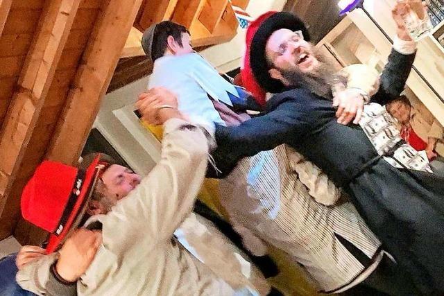 So feierte die jüdische Gemeinde in Freiburg am Donnerstag ihren Karneval